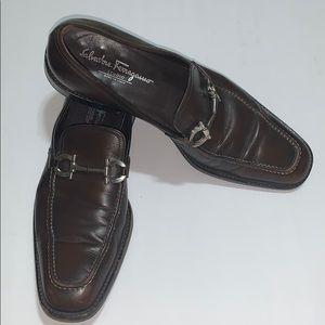 Salvatore Ferragamo Men's Shoes 10 D